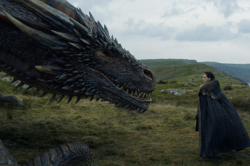 Game of Thrones Eastwatch Episode Ratings Record HBO Jon Snow Drogon Daenerys Khaleesi Tyrion Gendry