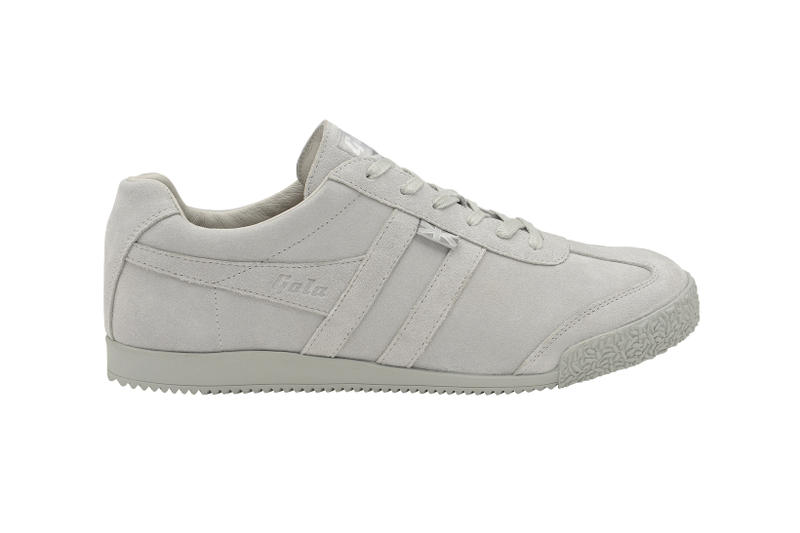 Gola Engineered Garments Collaboration Aztec Harrier Navy Grey Suede White Leather Tobacco Suede