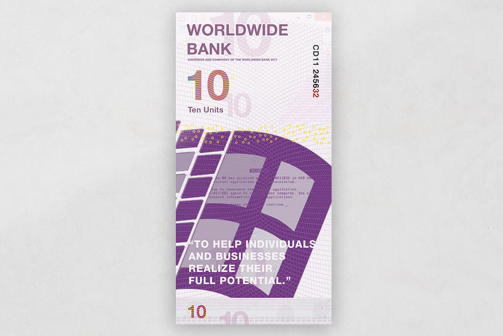 Fictional Brand Currency
