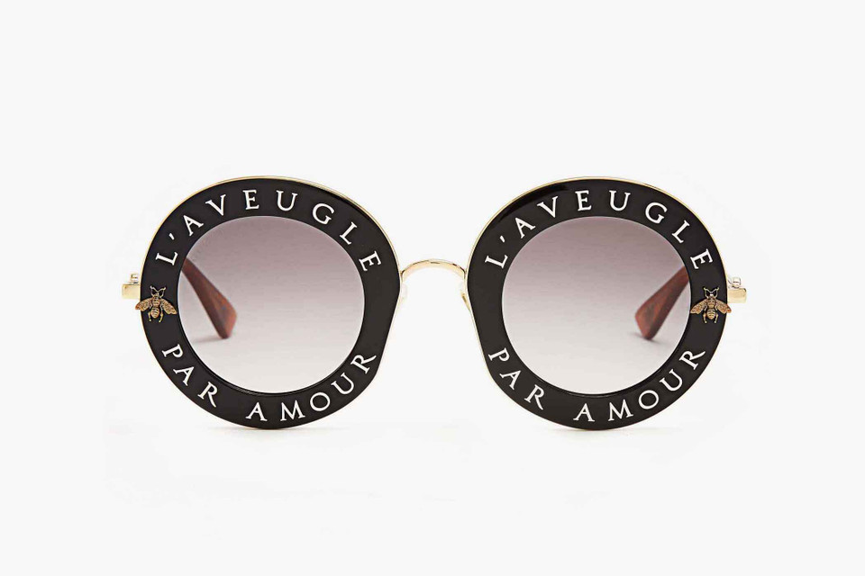 b4ae84bb847 Gucci Round-Frame Sunglasses