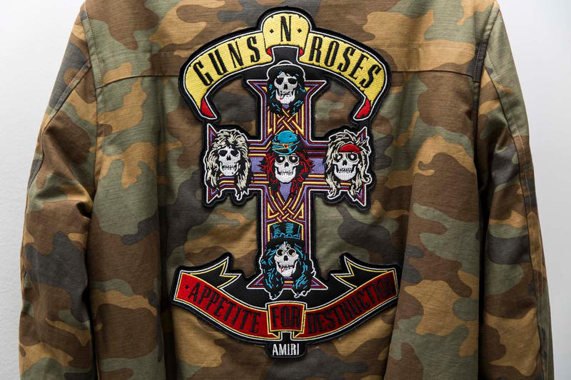 Maxfield Guns N' Roses Was Here Pop-Up Shop