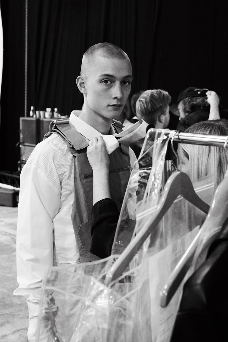 HELIOT EMIL Spring Summer 2018 Backstage Copenhagen Fashion Week