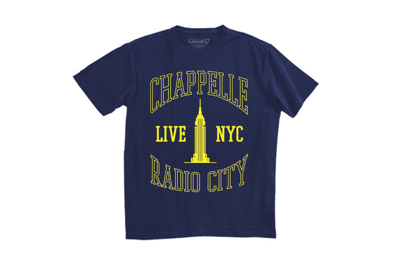 Heron Preston x Bravado Dave Chapelle Radio City Capsule Collection