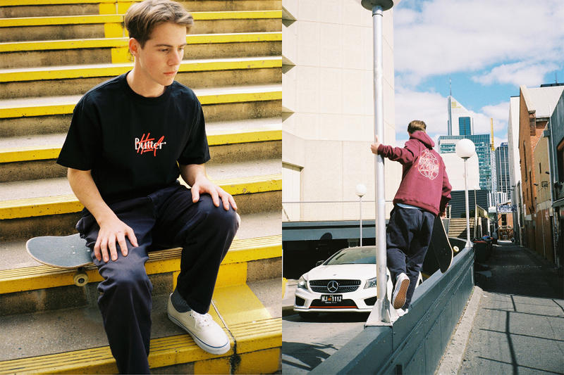 Highs and Lows Butter Goods 2017 Collaboration Australia Release Date Drop September Pop Up Jackets Tees