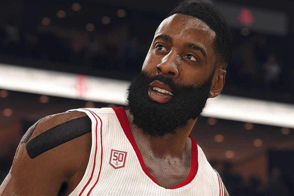 2a1f83ff379 James Harden Named  NBA Live 18  Cover Player