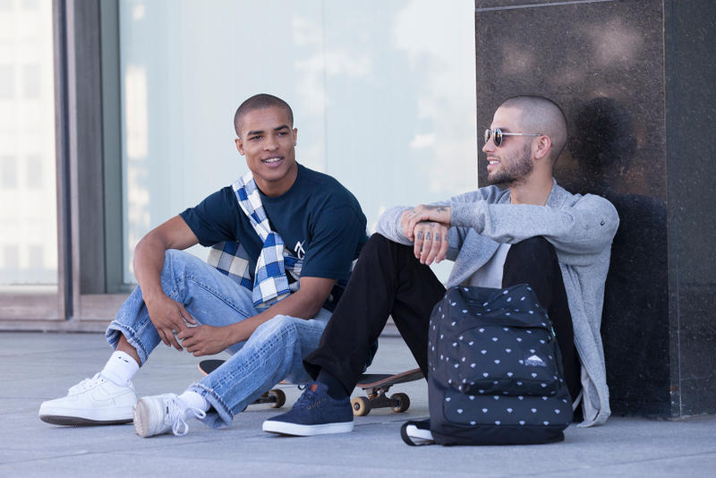 JanSport Diamond Supply Co Fall Lookbook Collaboration Palm Prints Backpacks Bags Back to School Packs Pouch Duffle