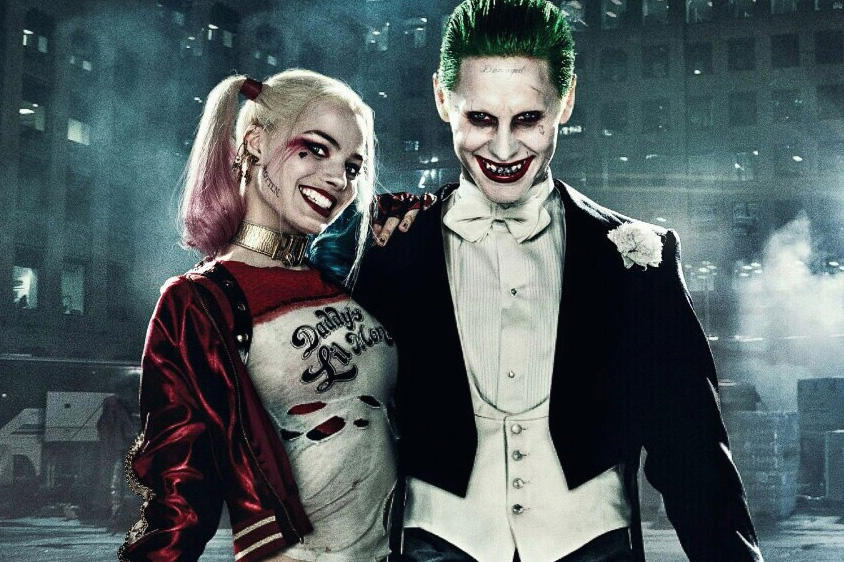 Jared Leto Margot Robbie New Joker Harley Quinn Movie Film Warner Bros DC Batman Justice League Suicide Squad