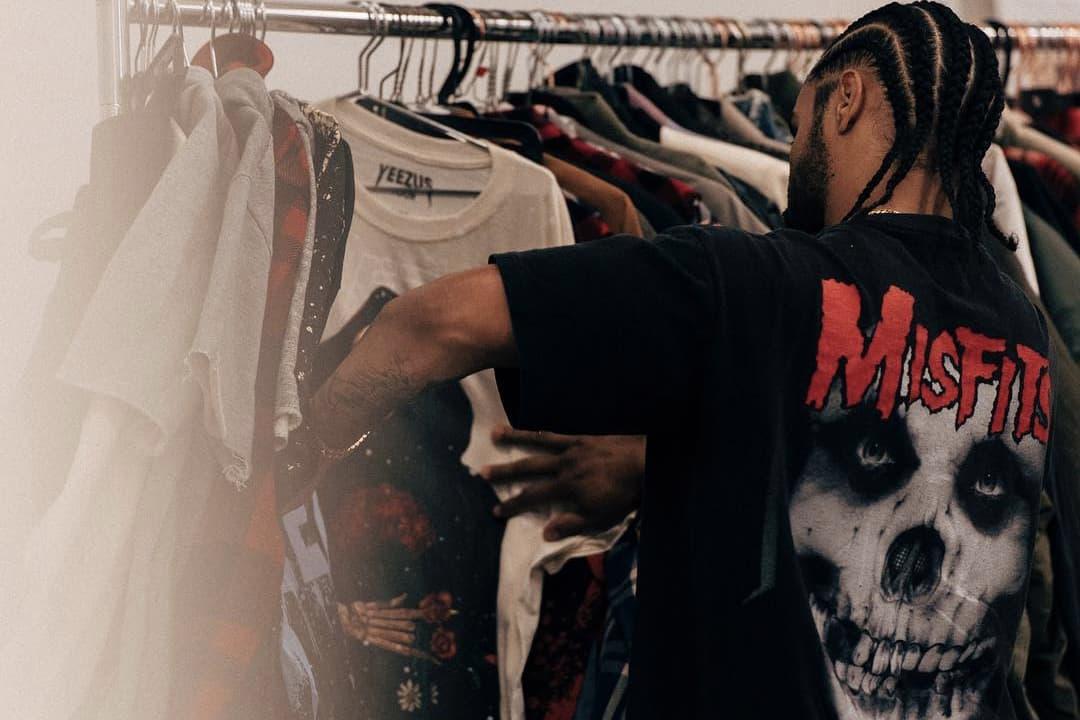 Jerry Lorenzo Vintage Merchandise T Shirts Grailed 1 Dollar Usd Yeezus Tour