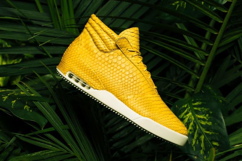 John Geiger 001 Matte Yellow Python 2017 October Release Date Info Sneakers Shoes Footwear
