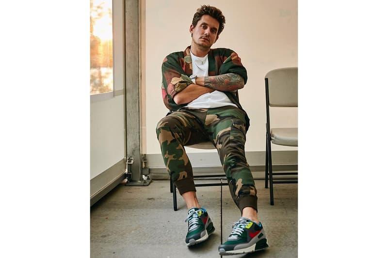 "John Mayer Nike Air Max 90 ""Pickle Rick"""
