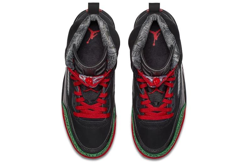 Air Jordan Brand Spiz'ike Spike Lee Red Black Green Shoe Sneaker