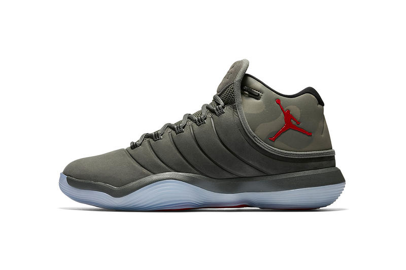 quality design a37ac 5e530 Air Jordan Brand Super Fly 2017 Camo Camouflage Sneaker Colorway Show Michael  Jordan