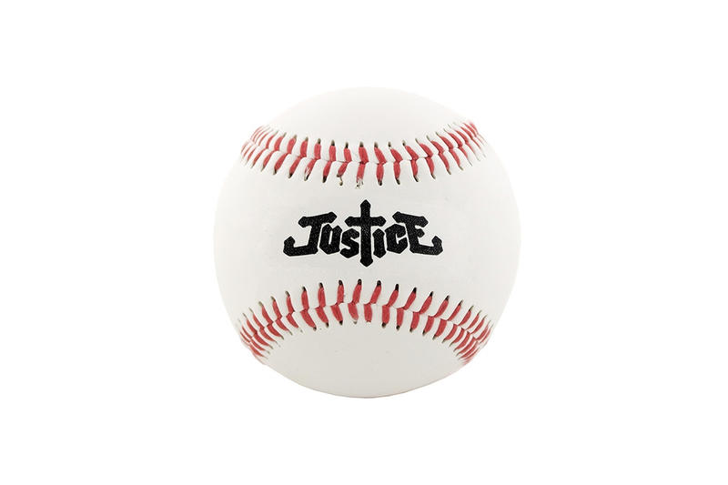 Justice PHIRE WIRE Capsule Collection Collaboration Jacket Baseball Jersey T Shirt Tee Hat Cap Bat Ball Woman Black