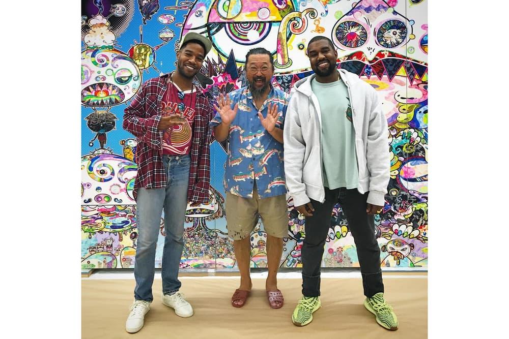 Kanye West Kid Cudi Takashi Murakami Studio Collaborative Album Artwork