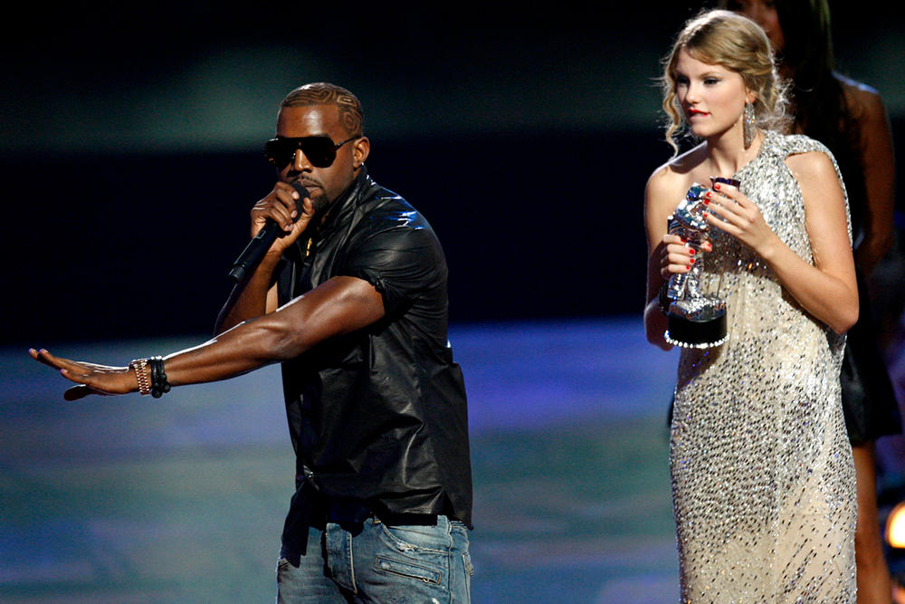 """Kanye West Taylor Swift Hey Mama Day VMAs """"Late Registration"""" """"Look What You Made Me Do"""""""