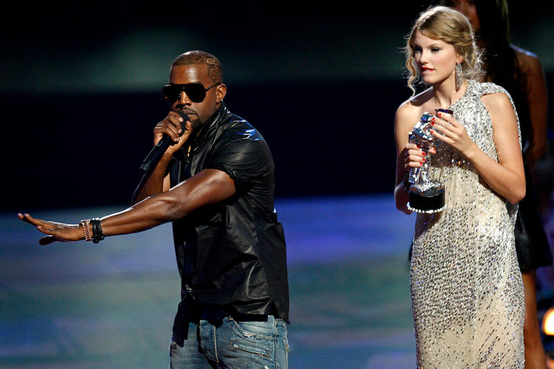 "Kanye West Taylor Swift Hey Mama Day VMAs ""Late Registration"" ""Look What You Made Me Do"""