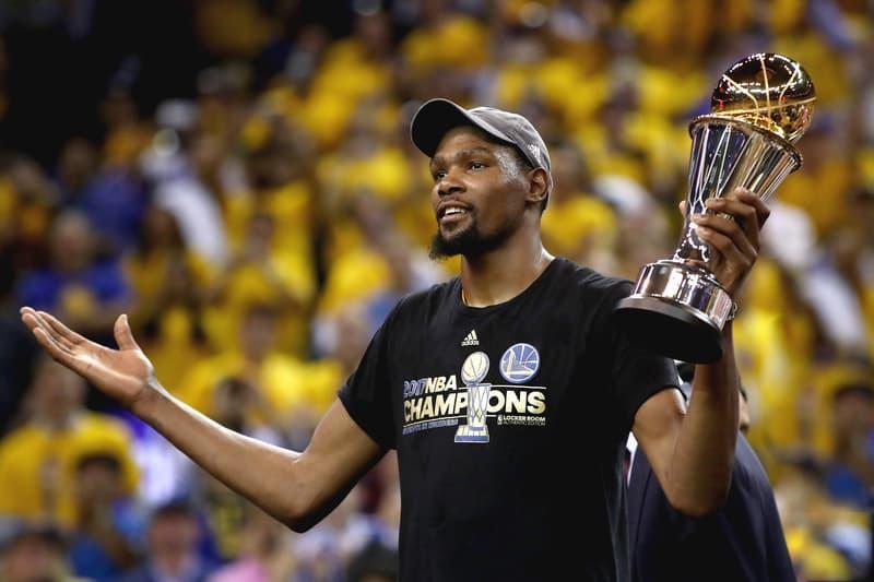 Kevin Durant Golden State Warriors 2017 NBA Finals Championship