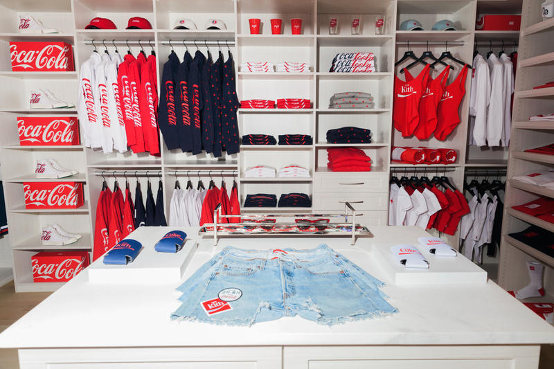 KITH Coca Cola 2017 Summer Collection First Look Converse Chuck Taylor All Star 1970 Sunglasses Ping Pong Red White Ronnie Fieg Hamptons