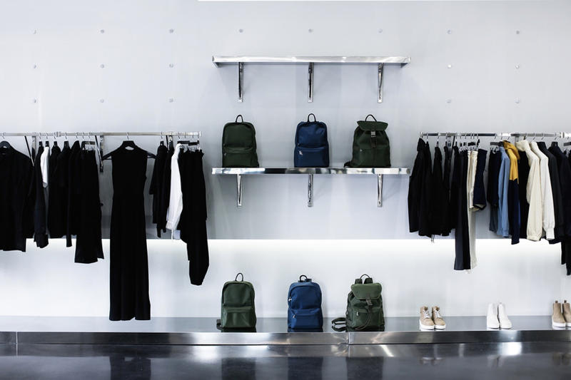 LOIT LA Store interior wall rack