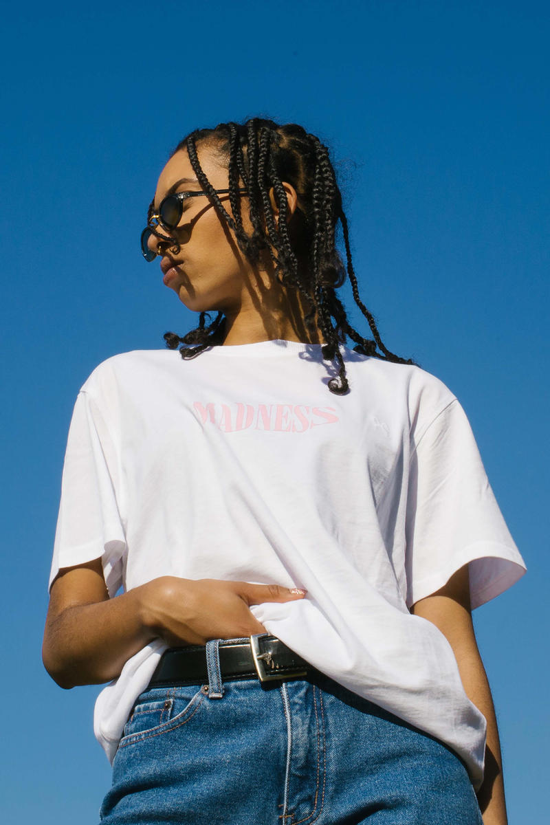 """Soulland x Contra 2017 Fall/Winter """"Madness"""" T-shirt Collaboration collection white pink tees tee shirt"""