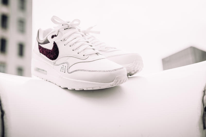 MaroonNYC Nike Air Max 1 Premium Custom Made exhibition one
