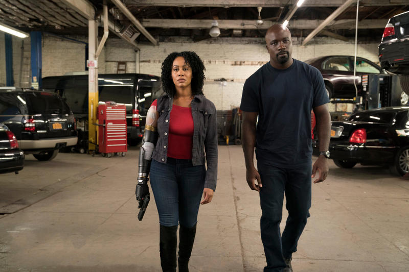 Luke Cage Season 2 Misty Knight Bionic Arm The Defenders Simone Missick Netflix Marvel