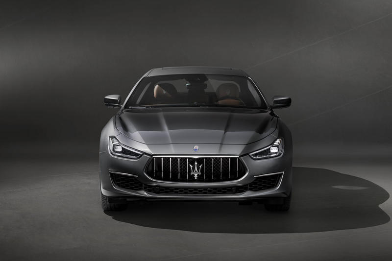 Maserati Ghibli GranLusso Autonomous Vehicle 2017 Chengdu Motor Show