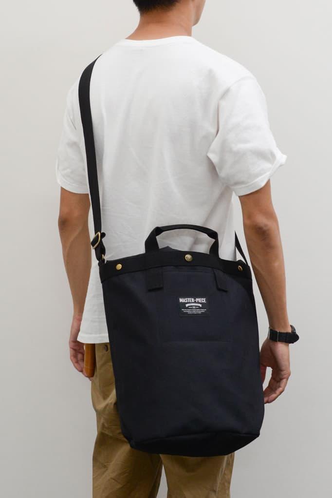 master-piece Everlast Tote Bag Accessories Fashion Accessories Black White Monochrome