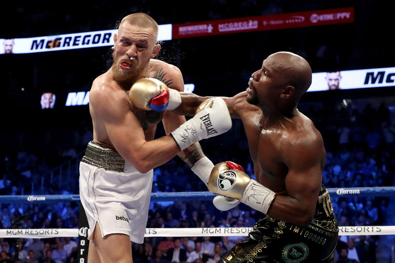 Floyd Mayweather Conor McGregor Super Welterweight Boxing Fight Las Vegas