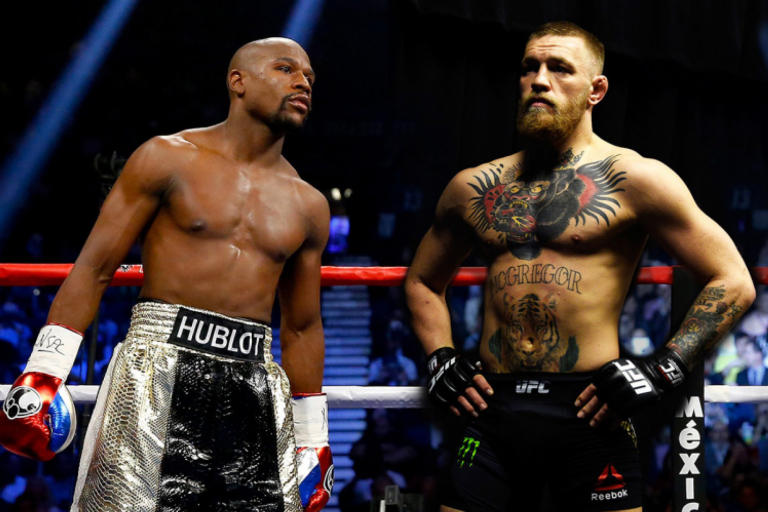 Floyd Mayweather Conor McGregor Fight 8 Ounce Gloves Agreement Facebook Post