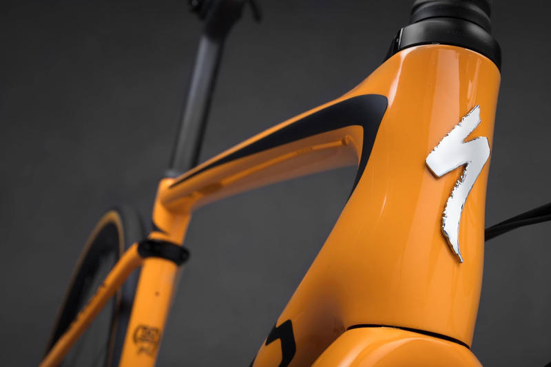 McLaren Specialized S Works Roubaix Bicycle