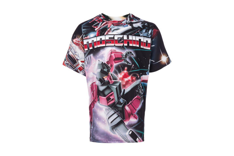 Moschino Transformers Sweatshirt T Shirt Tee 2017 Fall Winter Collaboration Capsule Collection