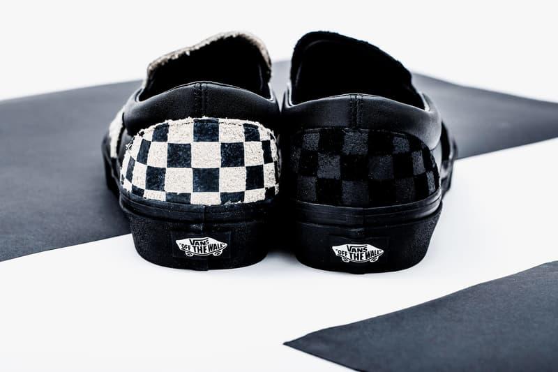 N.HOOLYWOOD x Vans Checkerboard Slip-On