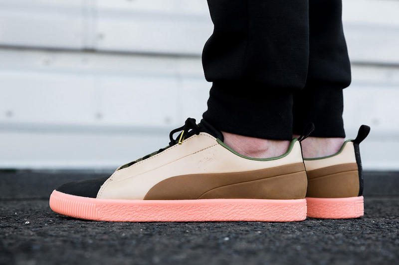 Naturel Puma Clyde FSHN Glow in the Dark Ice-Cream Edition