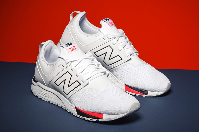 New Balance 247 2017 August New Colorways White Navy Black Red Sneakers Shoes Footwear Release Date Info