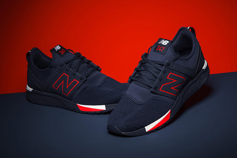 f52fa0d0a67 New Balance 247 2017 August New Colorways White Navy Black Red Sneakers  Shoes Footwear Release Date