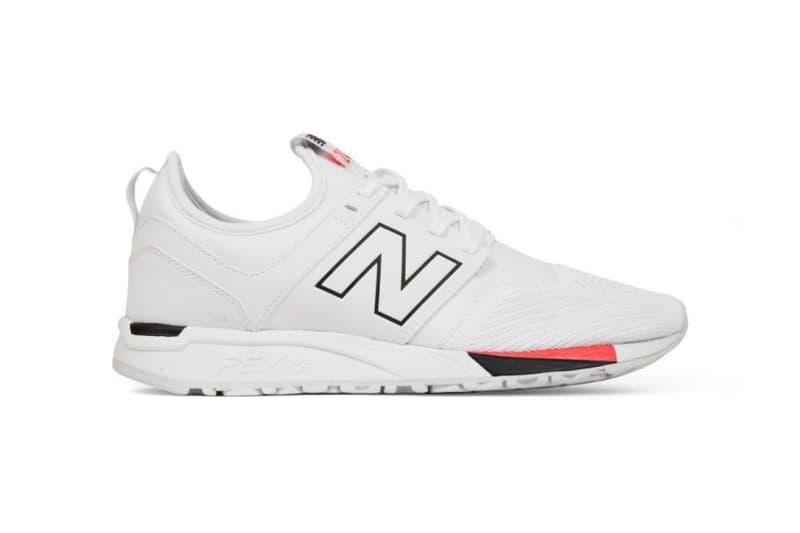New Balance 247 Infrared White Black Red