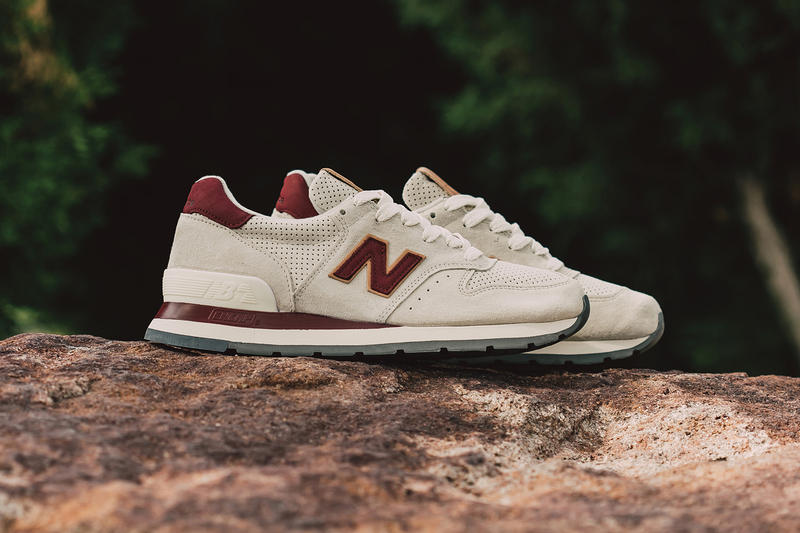 New Balance 995 Made in USA Angora Mercury Red
