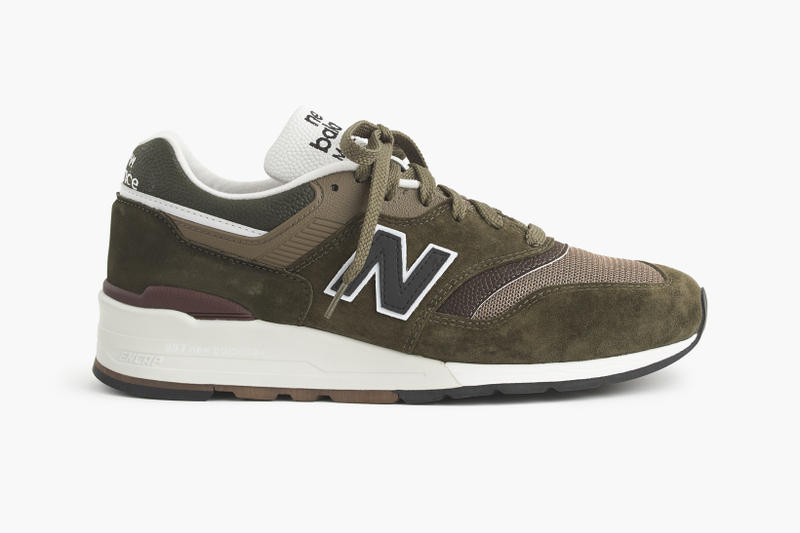 J Crew New Balance 997 Camo Collaboration