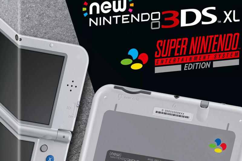 SNES Nintendo 3DS XL Europe Super Entertainment System Mini Classic