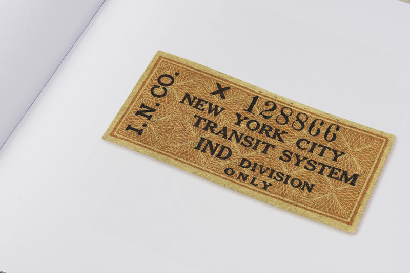 New York City Transit Authority Objects Book Standards Manual MTA Trains Subways Pins Coins Tokens Maps