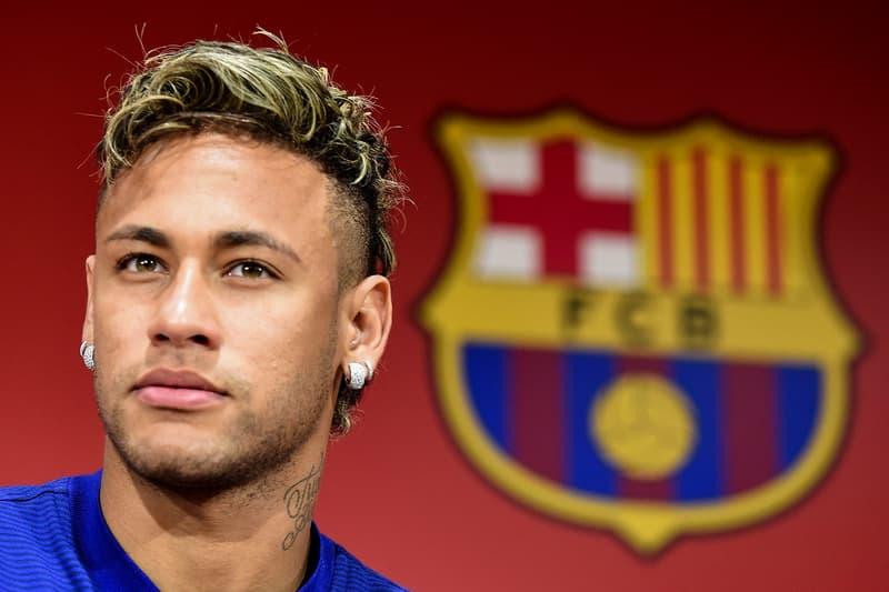 Neymar jr Transfer PSG paris saint germain barcelona fc messi hair tattoo qatar world cup 2022