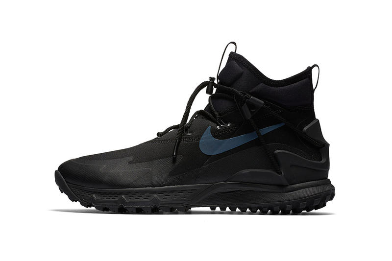 sports shoes b47b7 acc41 Nike ACG Terra Sertig Boot Black Anthracite Reflective Swoosh Sneakers  Shoes Footwear 2017 Release Date Info