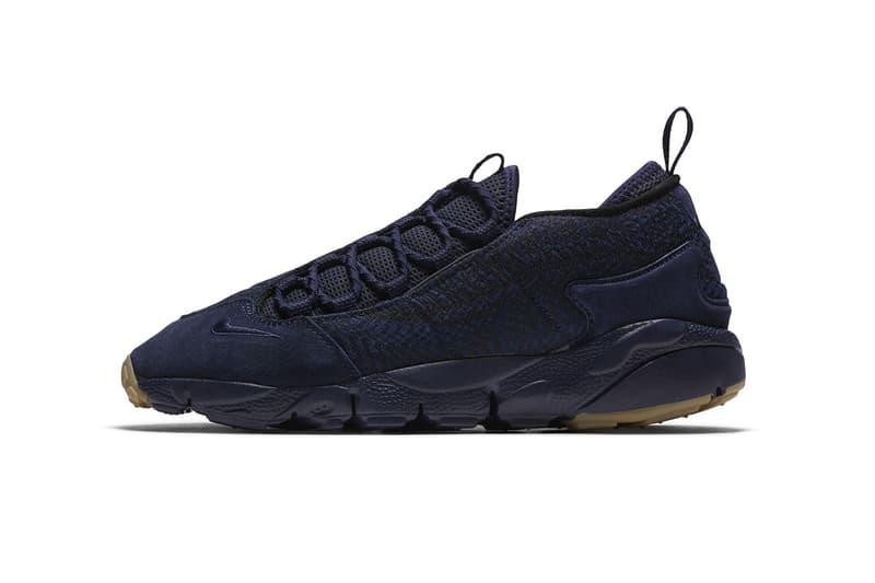 Nike Air Footscape NM Premium Indigo Blue Gum Sole Sneakers Shoes Footwear 2017 September 1 Release Date Info