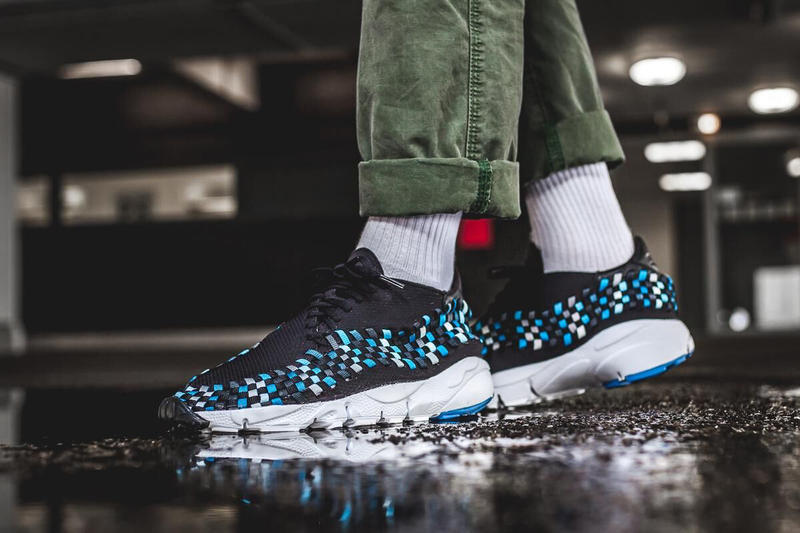 Nike Air Footscape Woven Nm Blue Jay Sneaker Shoe Summer