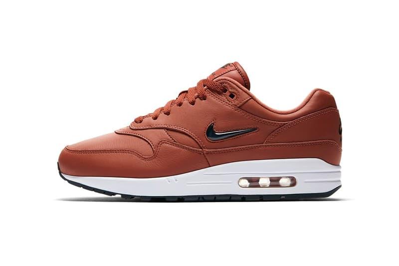Nike Air Max 1 Jewel Dusty Peach Sneakers Shoes Footwear 2017 August 24 Release Date Info