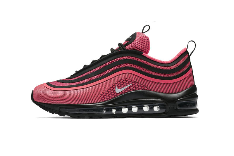 on sale f0cec 8711b Nike Releases the Air Max 97 Ultra In 'Infrared/Black' | HYPEBEAST