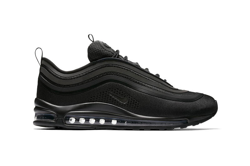 "The Nike Air Max 97 Ultra ""Triple Black"" Releases Today"
