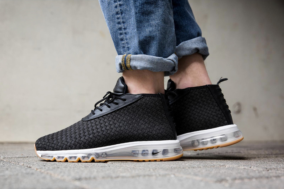 huge discount 25dcf b53e3 Here s an On-Feet Look at the Nike Air Max Woven Boot In