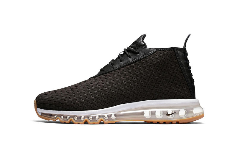 sports shoes d160f 07f6f Nike Air Max Woven Boot Black White Gum Sneakers Shoes Footwear Summer 2017  August Release Date